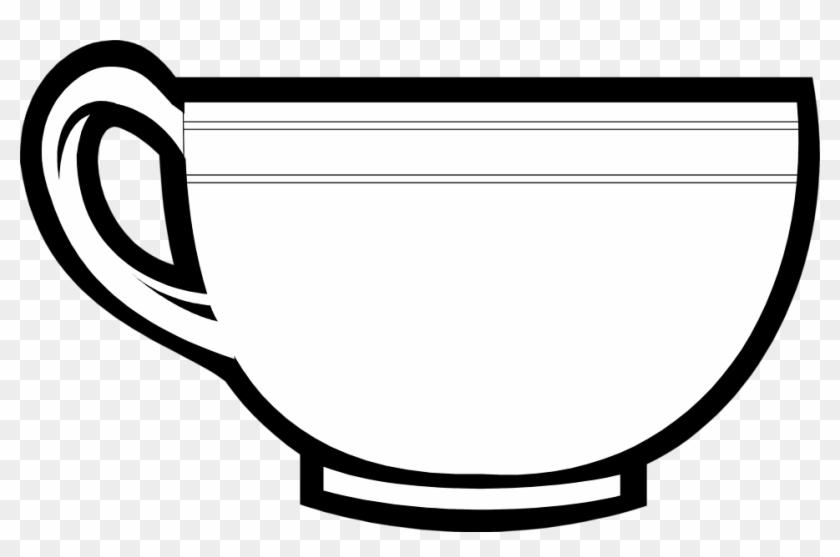 Tea Cup Free Stock Photo Illustration Of A Tea Cup - Clip Art #194915