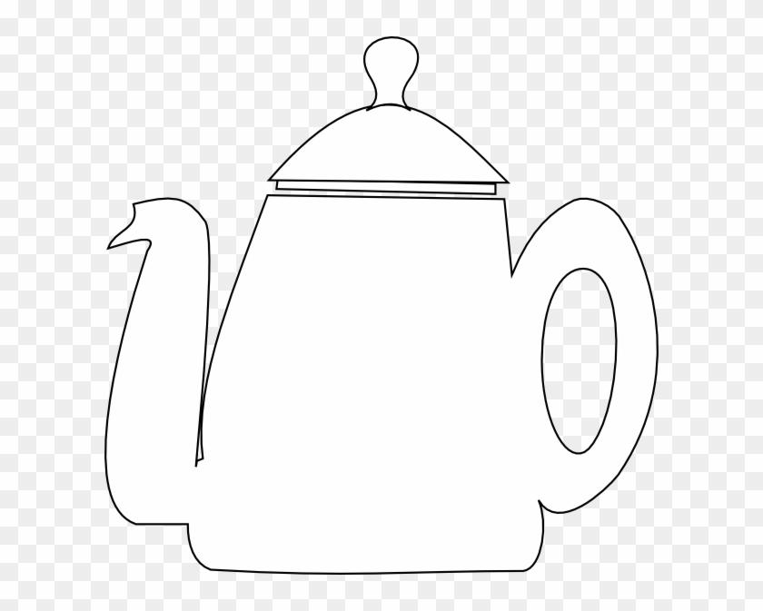 Free Tea Pot Digi Stamp - Motivational Poster #194938