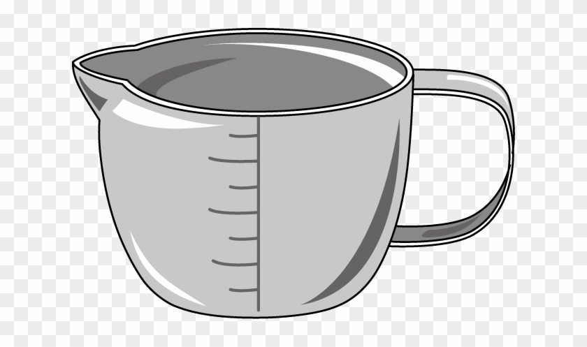 Cup Clip Art - Measuring Cup Clipart Transparent #194979