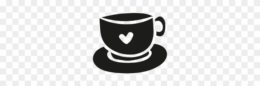 Love Cup Icon - Heart Coffee Icon Png #194991