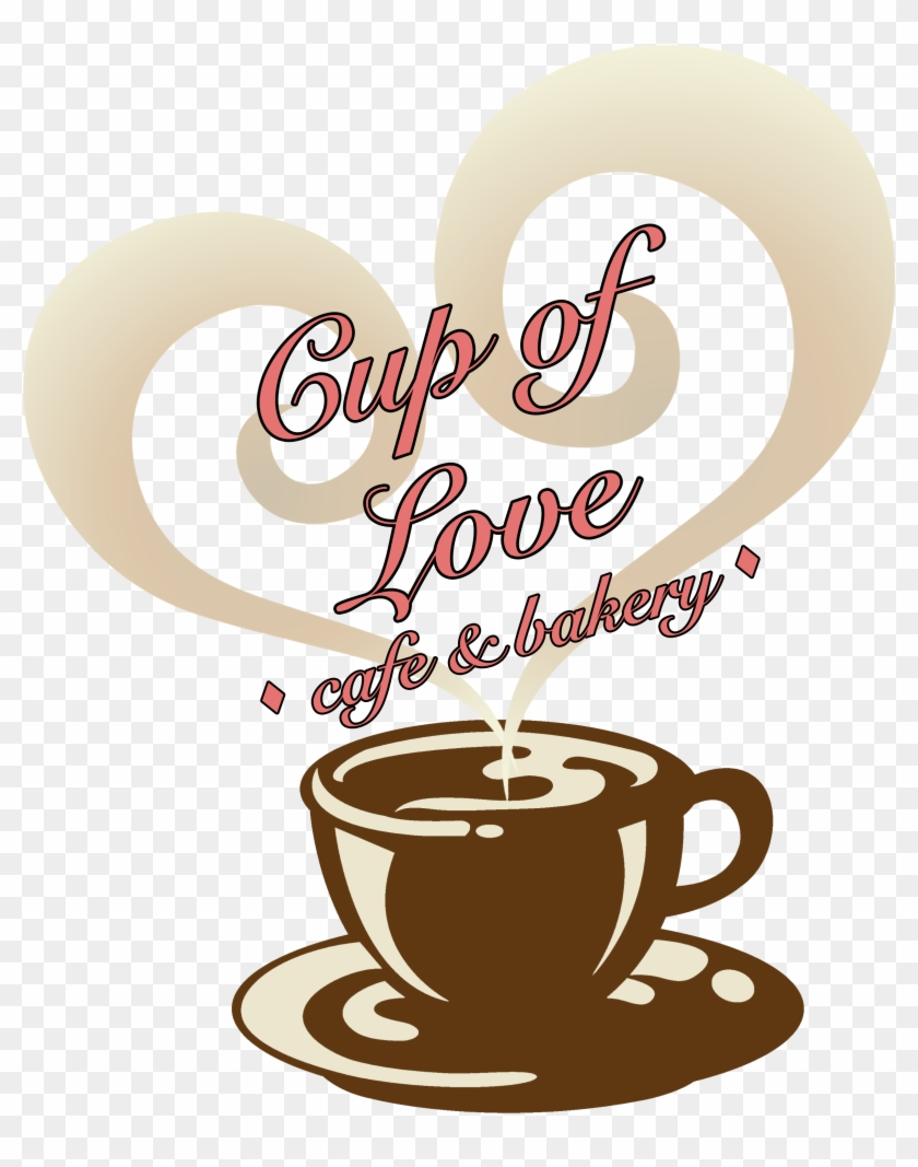 Cup Of Love Logo - Damn Good Coffee ; Hot - Bold ; Fun Framed Print Poster #195027
