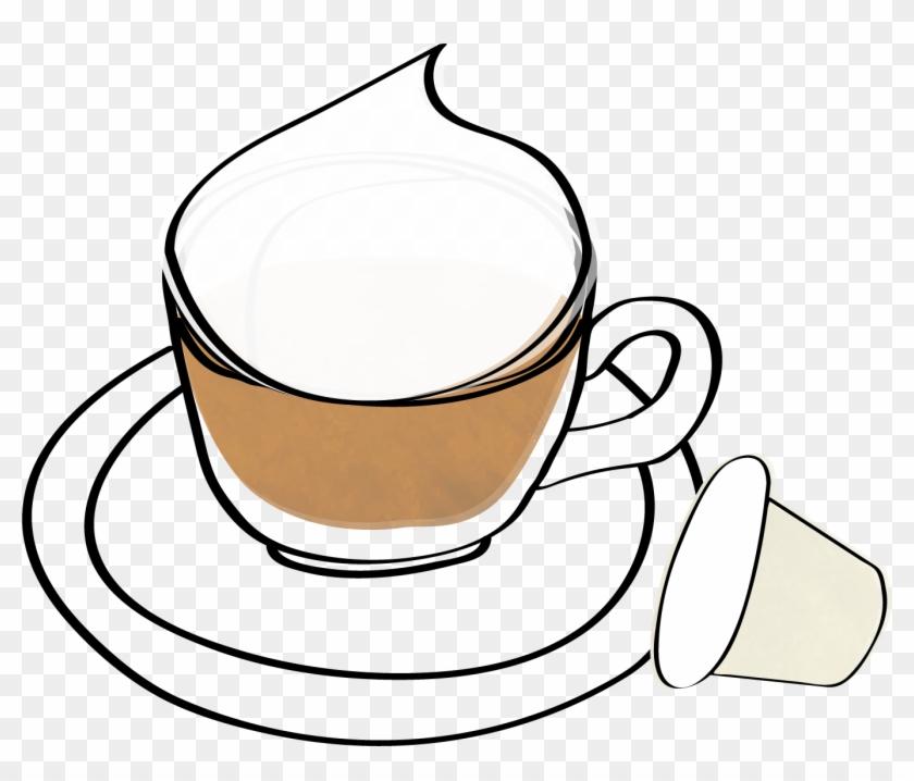 Cappuccino Pods - - Line Art #195043
