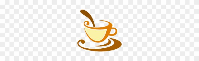 Vector Tea Cups Food Logo Download - Hotel #195054