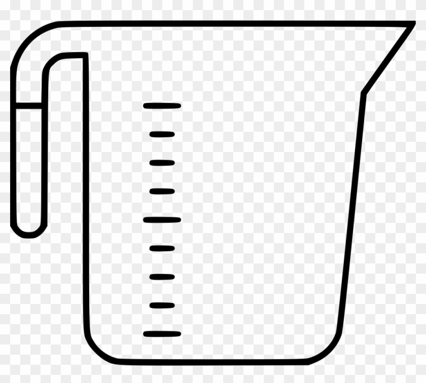 Cup Clipart Measuring Cup - Clip Art Measuring Cup #195094