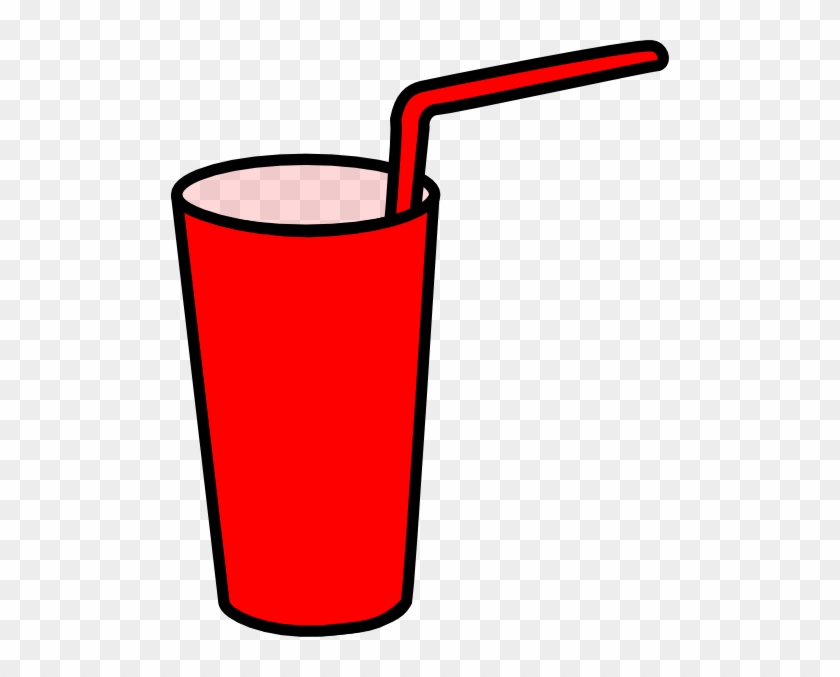 Drink Cup Cliparts - Drink With Straw Clipart #195146