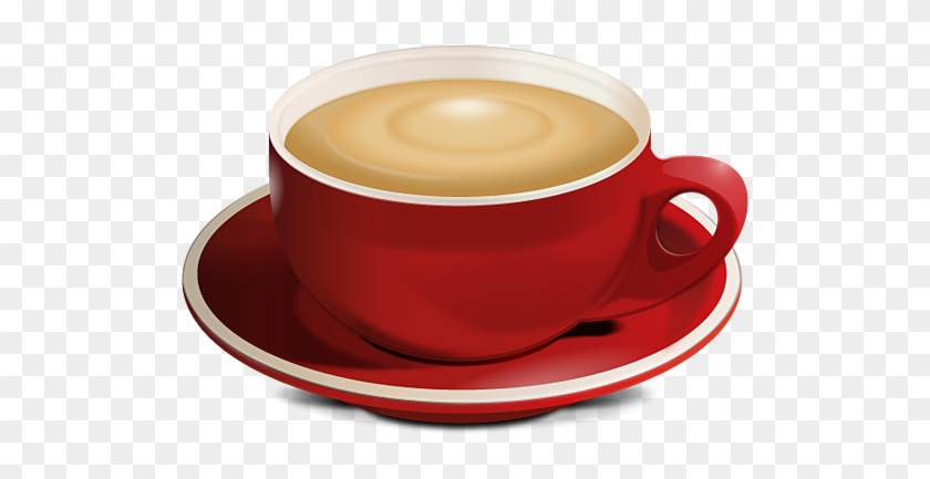 Coffee 12 Image - Red Coffee Cup Png #195147