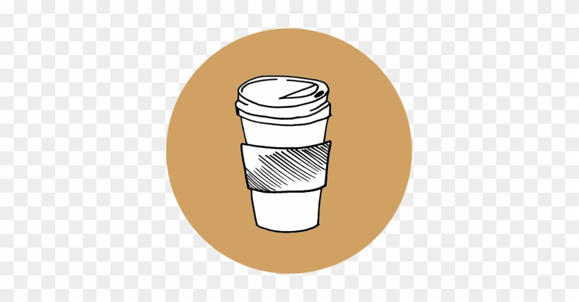 Caveman Cups Does Not Currently Offer Matching Lids - Coffee Cup Drawing #195162