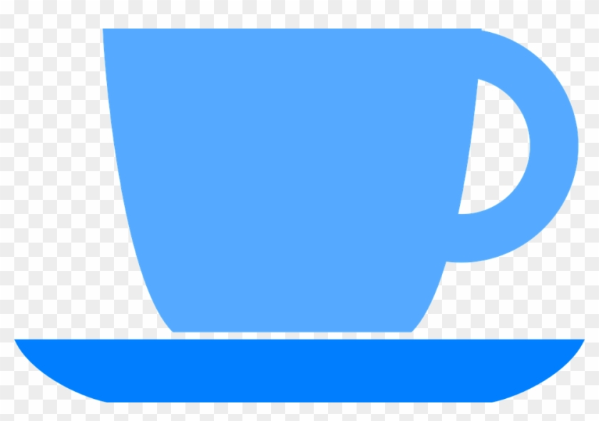 Coffee Cup Icon Blue #195172