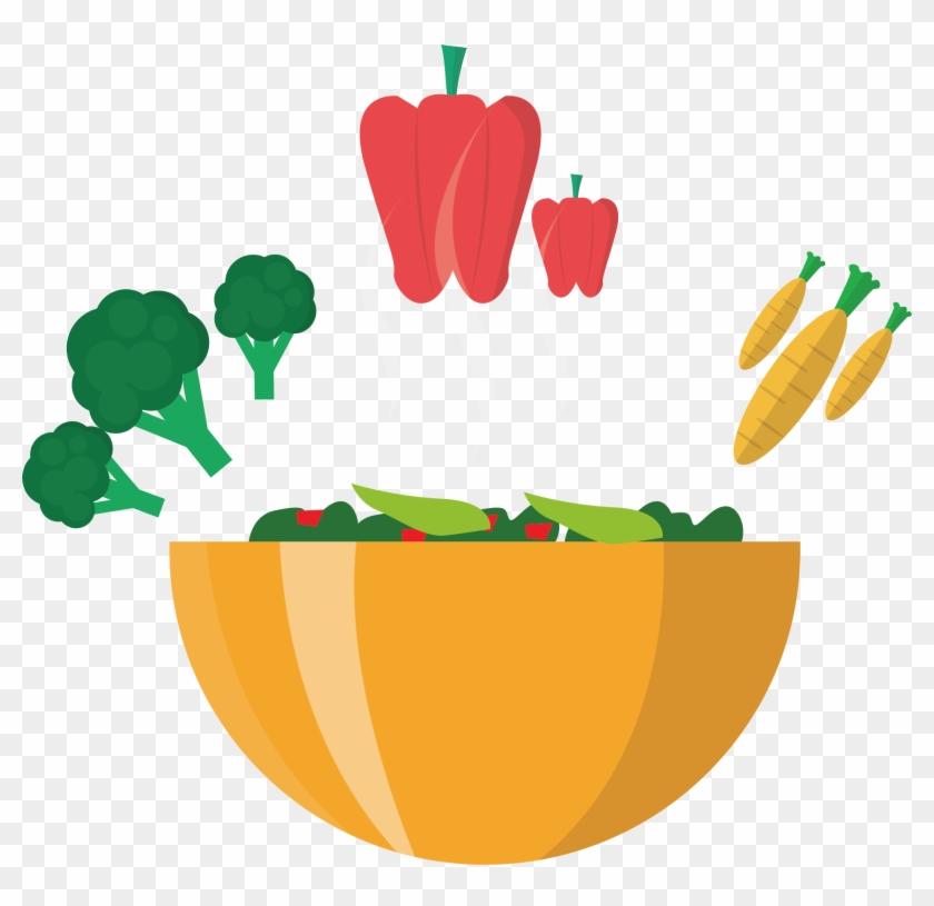 Bean Salad Vegetable Fruit Clip Art - Bean Salad Vegetable Fruit Clip Art #195212