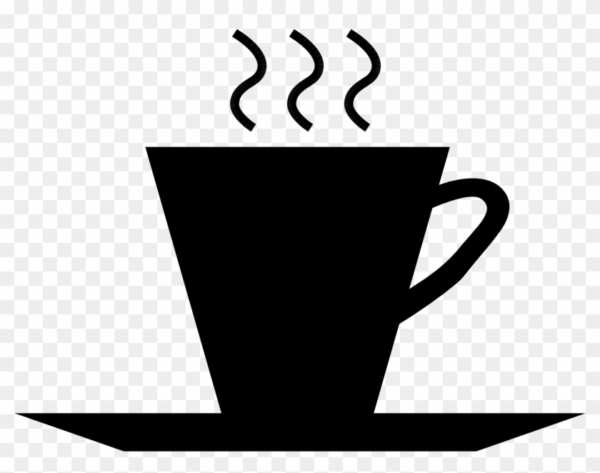 Filecup Of Coffeesvg Wikipedia - Coffee Cup Silhouette Png #195209