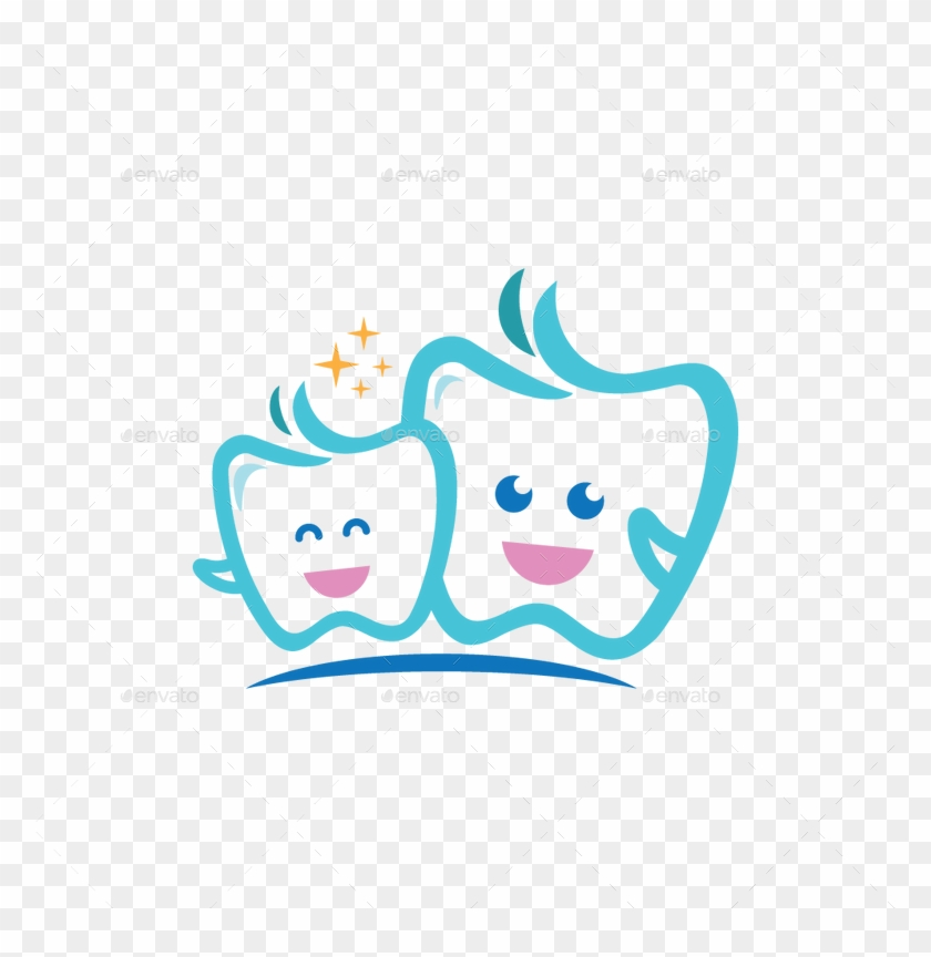 Tooth Logo - لوگو دندان پزشکی کودک #195255