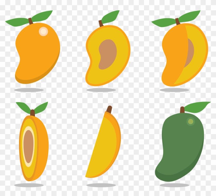 Mango Euclidean Vector Clip Art - Mango Euclidean Vector Clip Art #195312