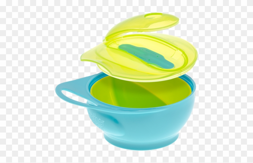 Weaning Bowl Set - Brother Max Weaning Bowl Set Blue/green - Pack Of 2 #195305