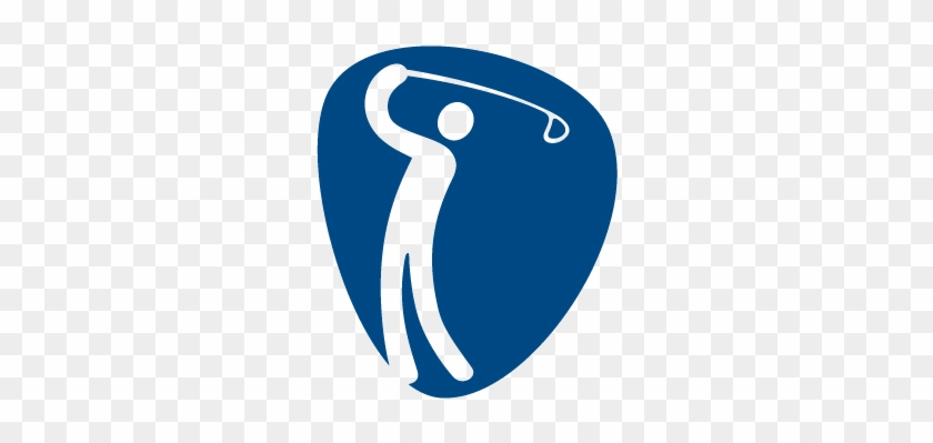 Some Sports, Doesn't Have Many Check Marks On The Above - Golf Logo Rio 2016 #195309
