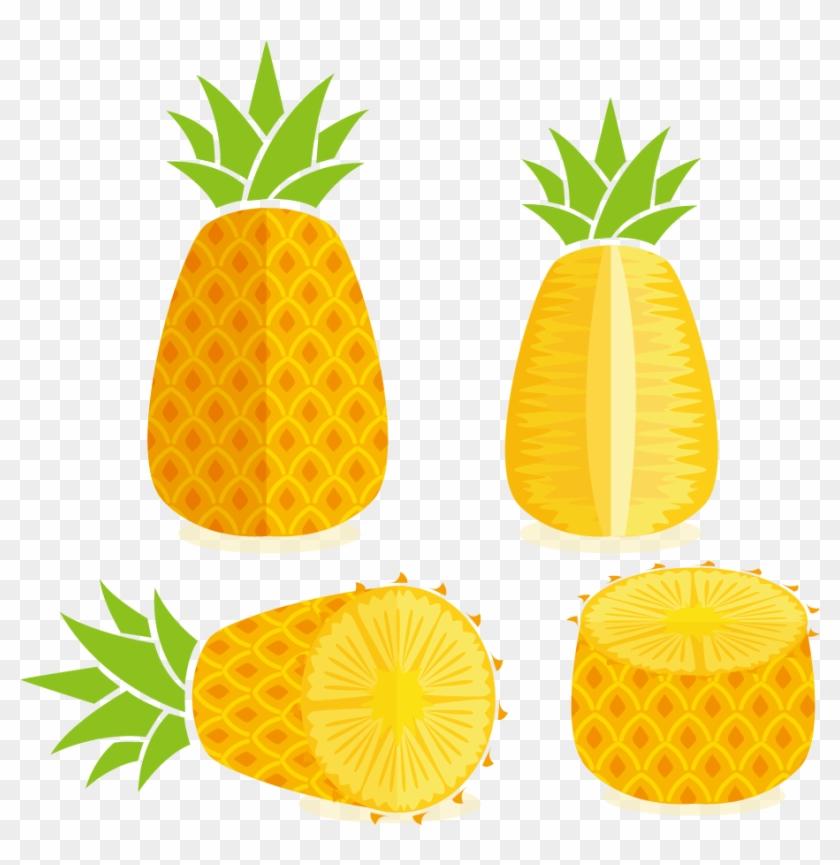 Pineapple Juice Tropical Fruit Clip Art - Pineapple Juice Tropical Fruit Clip Art #195364