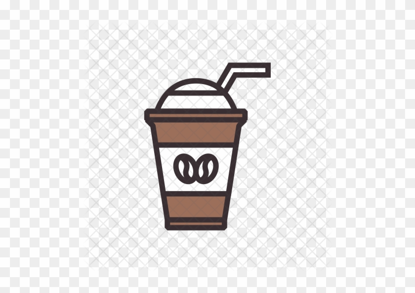 Iced Coffee Icon - Iced Coffee Icon Png #195365
