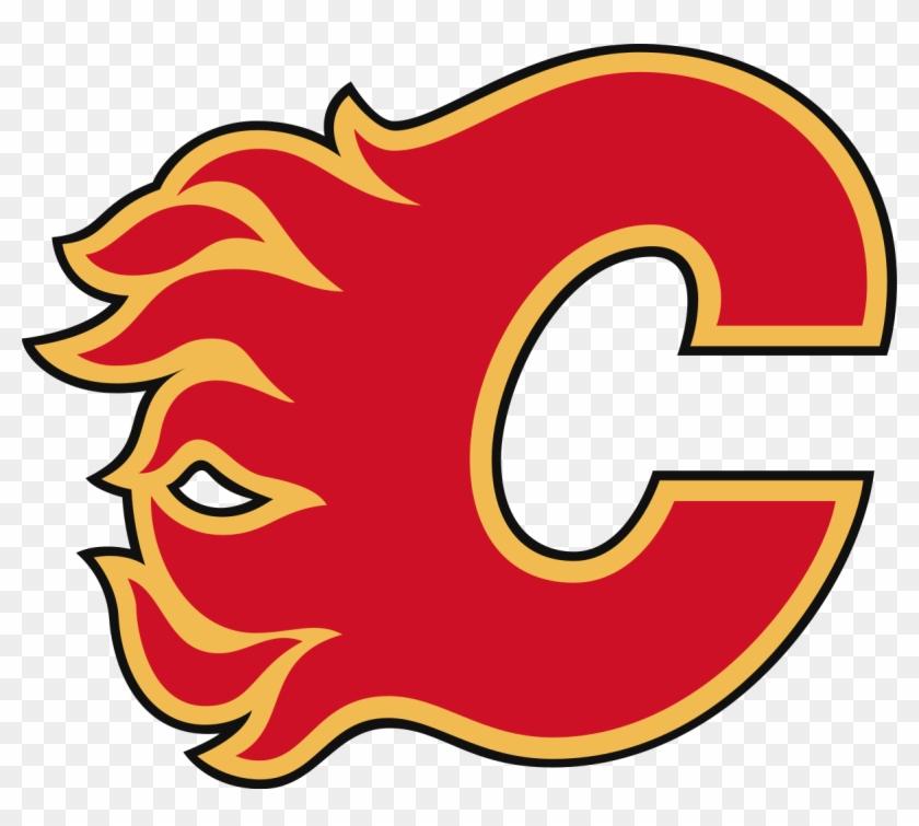 At - Calgary Flames Logo #195410