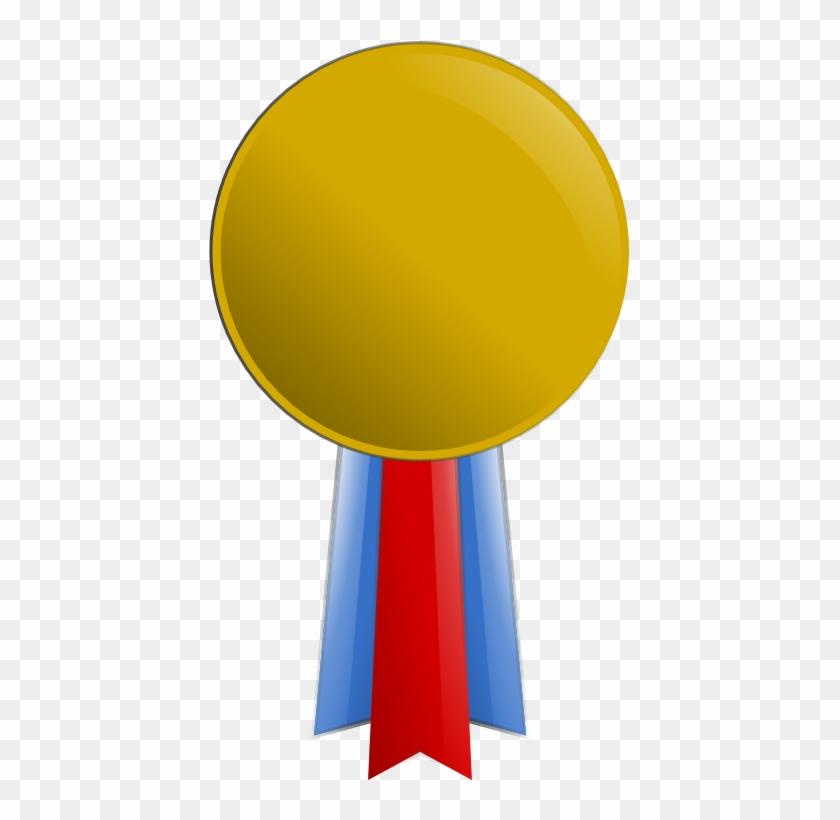 Clip Art Gold Medal - Clip Art #195435
