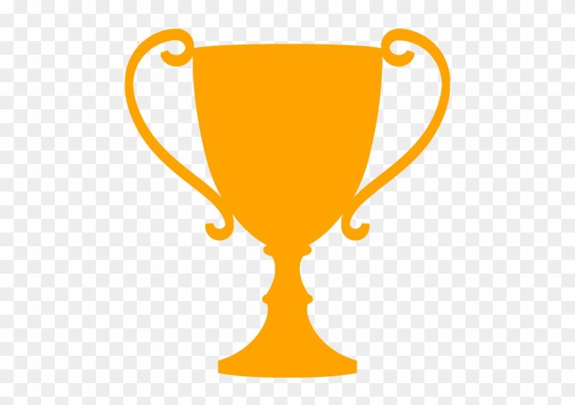 Trophy Clipart Orange - Trophy Icon #195437