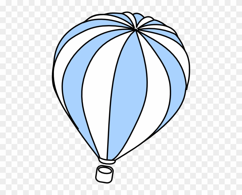 Hot Air Balloon Grey Svg Clip Arts 480 X 597 Px - Blue Hot Air Balloon Clipart #195453