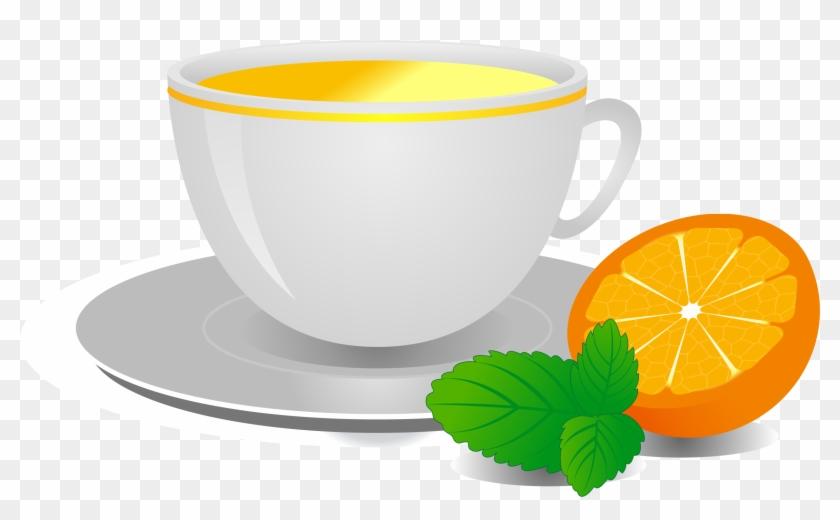 Hibiscus Tea Coffee Cup Orange Pu'er Tea - Hibiscus Tea Coffee Cup Orange Pu'er Tea #195496
