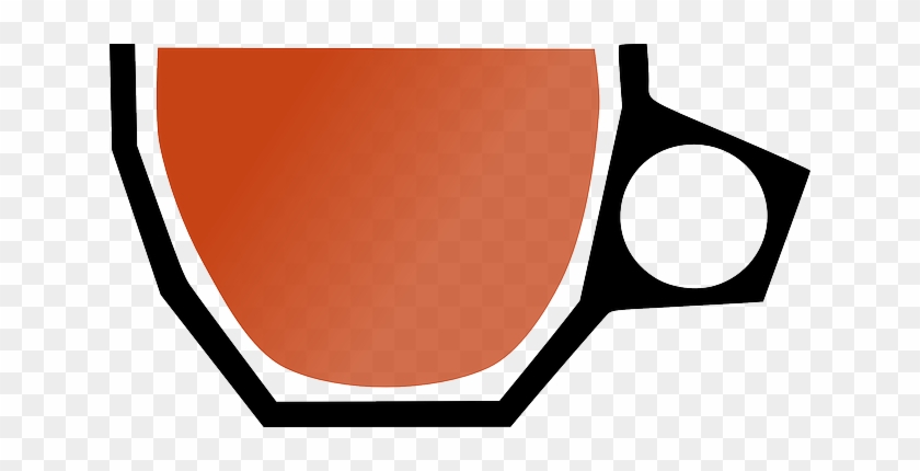 Cup, Hot, Coffee, Drink, Beverage - Clip Art #195469