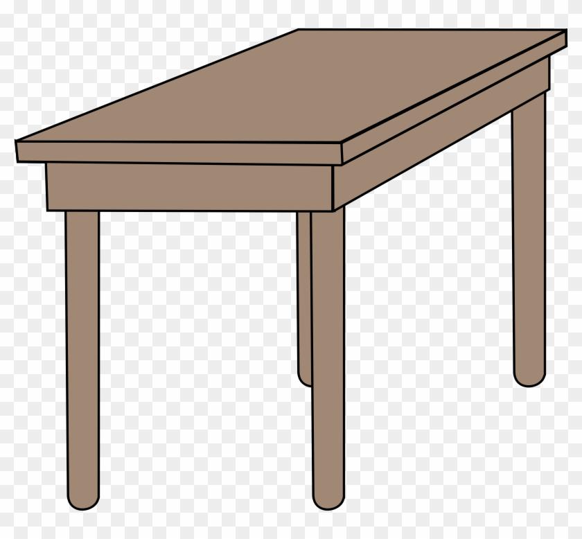 Image For Desk School Clip Art - School Table Clipart #195526