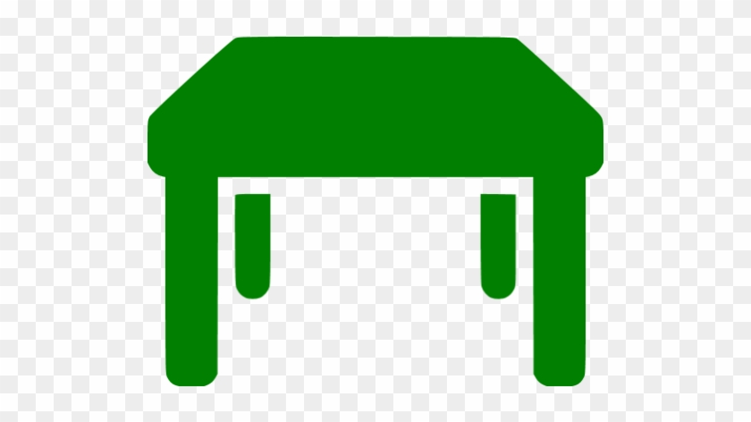 Red Table Icon #195530
