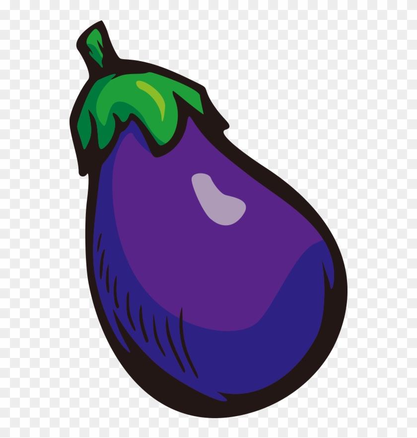 Eggplant Clip Art - Vegetable #195579