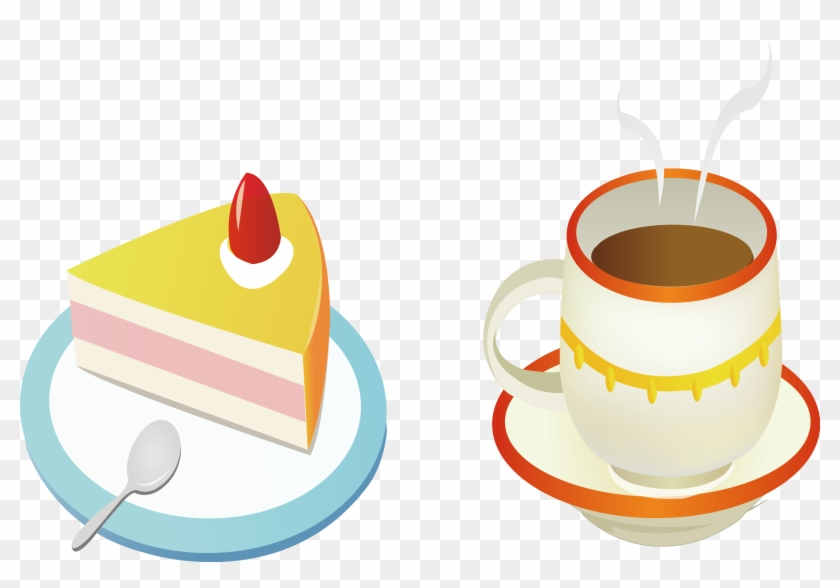 Coffee Cup Cafe Birthday Cake Torte - Coffee Cup Cafe Birthday Cake Torte #195629