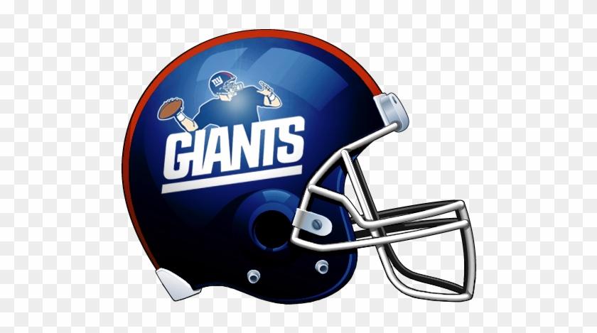 Giants Football Clipart - Ny Giants Helmet Logo #195671