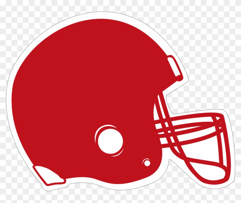 Red Football Helmet Clipart - Chicago Football Classic #195679