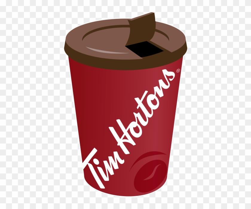 Tim Hortons Cup Clipart - Tim Hortons Logo Png #195706