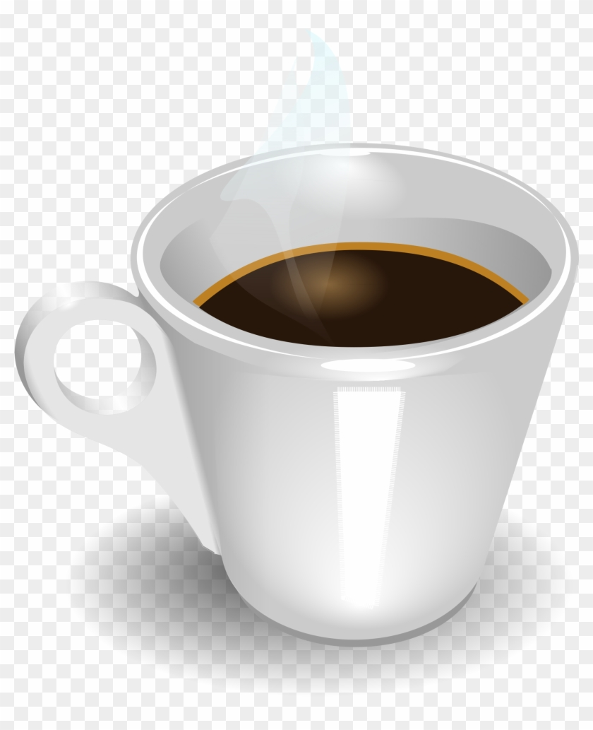 Coffee Vector Seamless Background - Coffee Cup Clip Art #195744