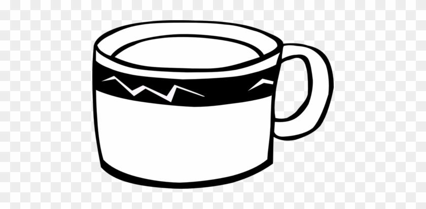 Coffee Mug Clip Art Black And White - Clip Art Image Of Mug #195758