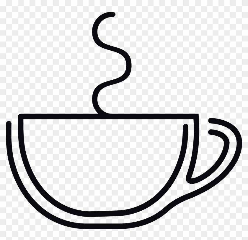 Coffee Cappuccino Tea Espresso Cafe - Simple Coffee Cup #195788