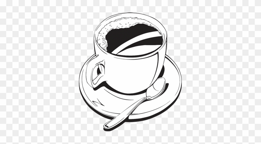 Coffee Black - Line Art #195796