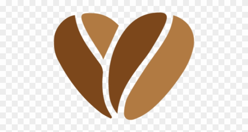 Colombian Coffee Connection - Coffee Bean Heart Png #195858