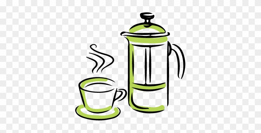 10) Grab A Mug And Decant The Coffee, Sit Back And - French Press #195862