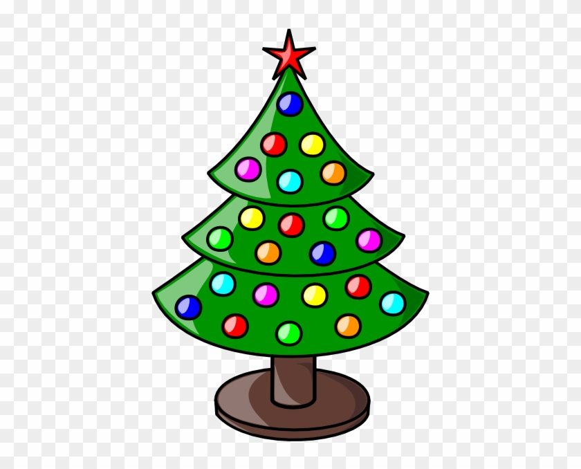 Colouful Clipart Christmas Tree - Clipart Christmas #195865