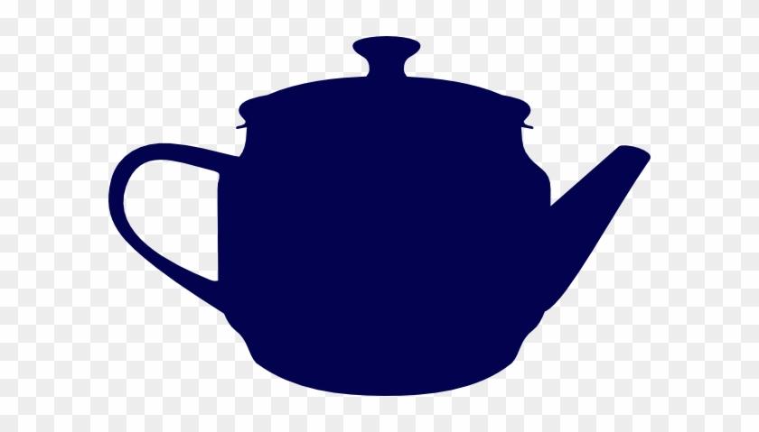 Tea Navy Pot Clip Art - Teapot Silhouette #195872