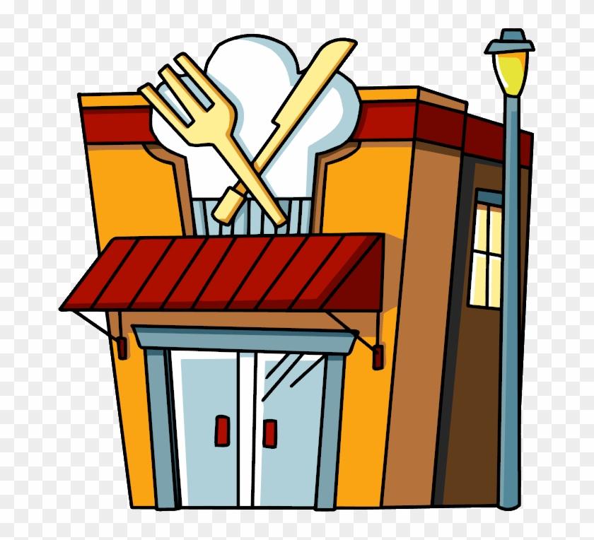 Image - Cartoon Pictures Of Restaurants #195881