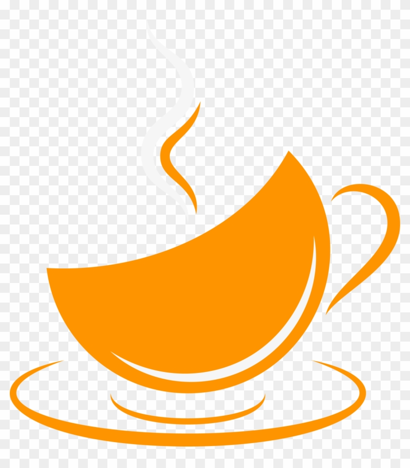 Coffee Cup Cafe Orange Coffee Clip Art - Coffee Cup Cafe Orange Coffee Clip Art #195953