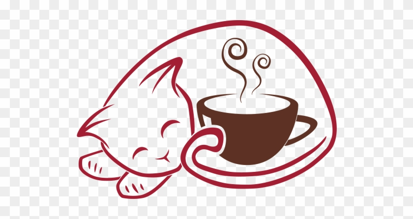 Home Logo - Cat And Coffee Png #195954