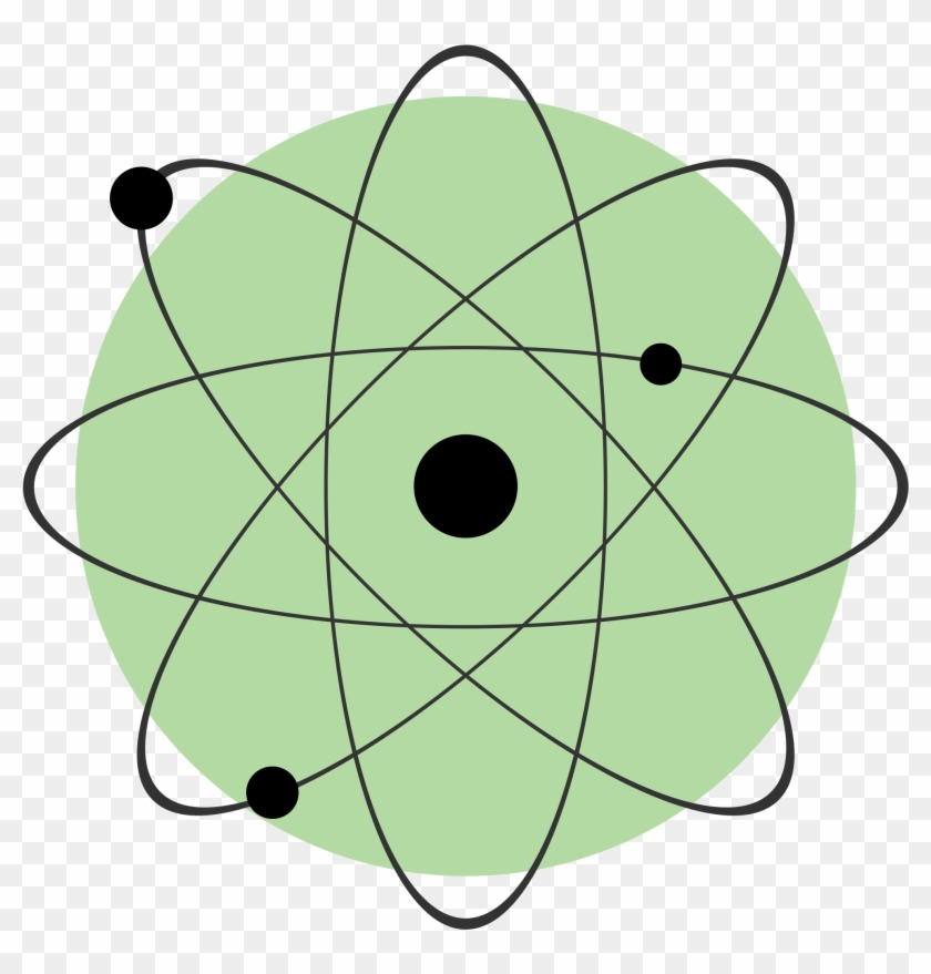 Atom Clipart Symbol Of Energy In Physics Free