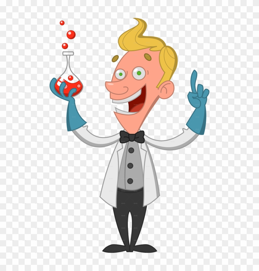Scientist - Scientist Cartoon Transparent #196031