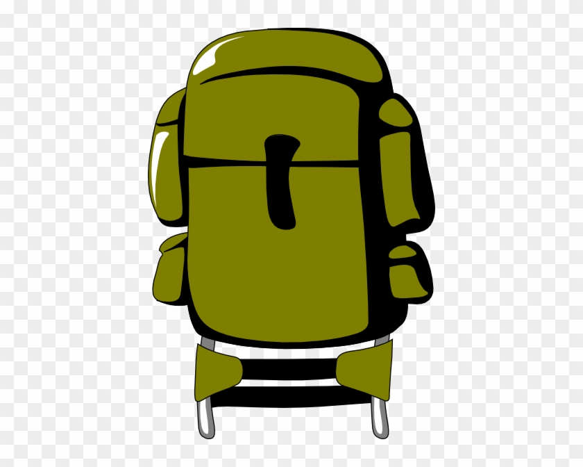 Backpack Clipart - Backpacking Clip Art #196034