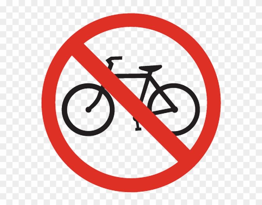Bikes Allowed Clipart - No Bike Clipart #196048