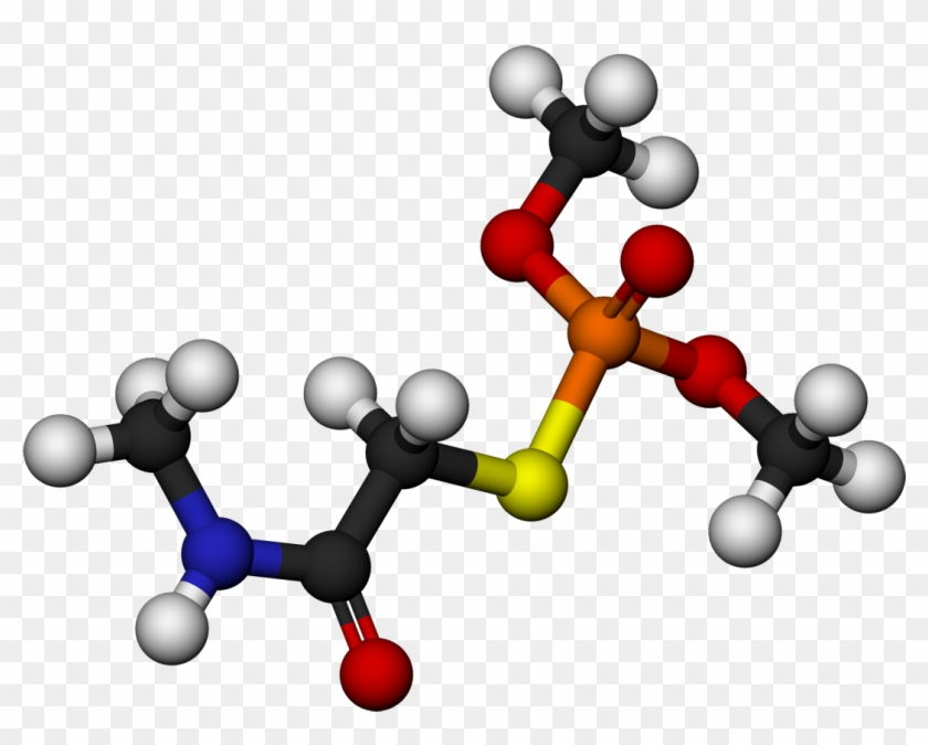 Omethoate Molecule 3d Balls By Ahrls - Acid #196085