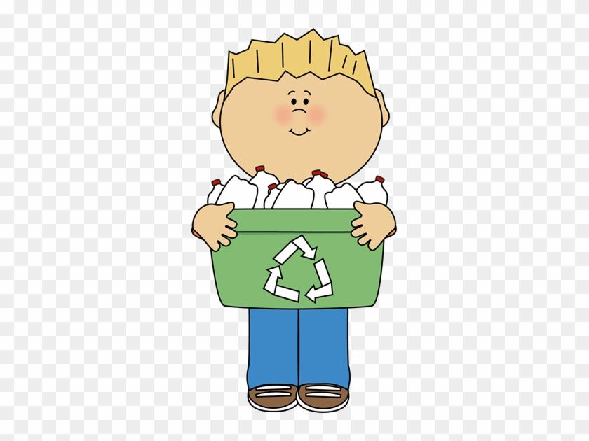 Earth Day Clip Art - Cute Recycle Clip Art #196101